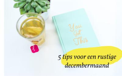 5 tips die jou als leerkracht door de drukke decembermaand heen helpen